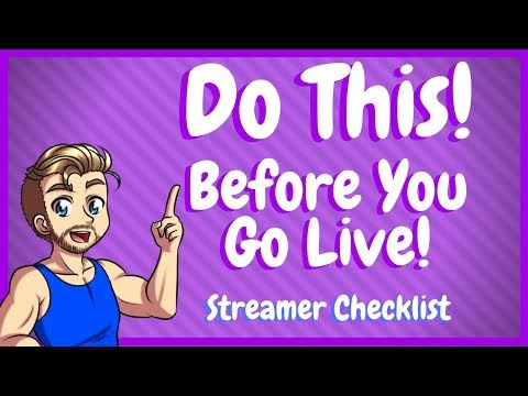 Xxx Mp4 Before Going Live Do This Streamer Checklist 3gp Sex