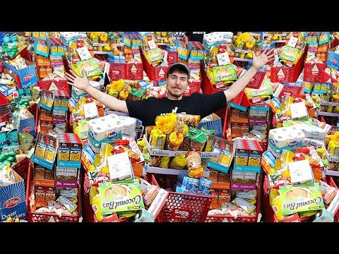 I Bought Everything In A Store Challenge