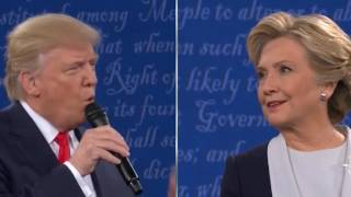 Donald Trump threatens to put Hillary Clinton in jail if elected in 2nd Presidential Debate