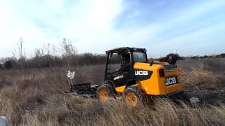 Brushcutter in action
