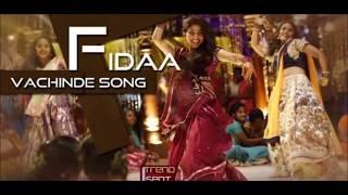 Vacchinde song Dance from Fidaa.Sai pallavi and varun.Sekhar kammula