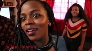 Kenyan girls 😋😋😋 SHOWS me Dancing Skills ft. Sharon Waniz    iam_marwa