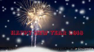 Happy new year 2018,Whatsapp status video,wishes,greetings, cards,messages,新年,nouvel An,Ano nuevo