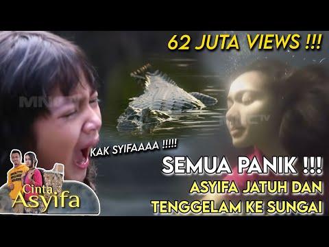 KAK SYIFA!! Teriak Nabila Ketika Asyifa Jatuh ke Sungai  - Cinta Asyifa Eps 12