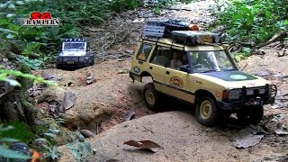 Scale Jungle RC Adventures Axial SCX10 Dingo Jeep Wrangler Wraith at Durian Loop Trails