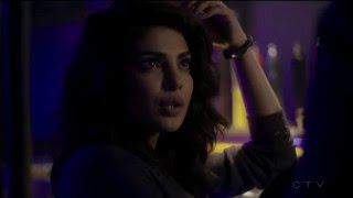 bar room kiss scene -  Priyanka Chopra/Alex Parrish  - Quantico (tv series)