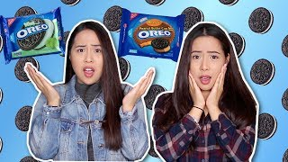 REAL FOOD vs OREOS Challenge! | Caleon Twins