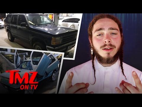 Post Malone Pimps His ... '92 Explorer?? | TMZ TV