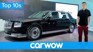 Toyota's Rolls-Royce for half the money - the incredible 2018 Century   Top10s