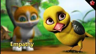 EMPATHY ♥Kathu story for children ★Malayalam cartoon stories