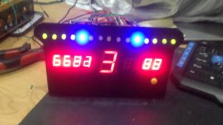 DIY Dashboard Racing Simulator - TM1638 module