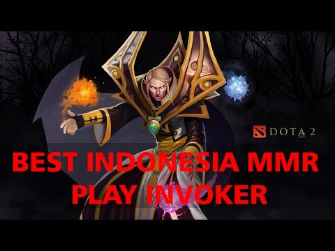 Dota 2 Invoker Best MMR Indonesia 7478 MMR - InYourDream Gameplay