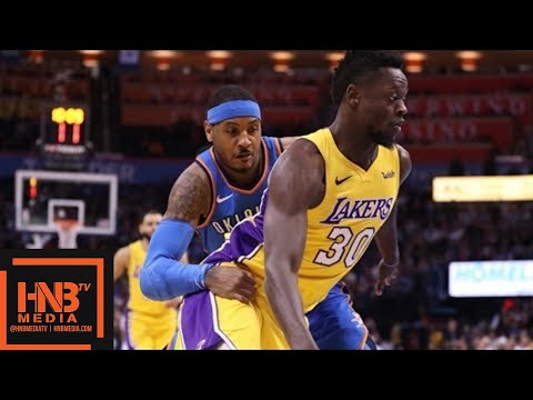 Xxx Mp4 Los Angeles Lakers Vs Oklahoma City Thunder Full Game Highlights Jan 17 2017 18 NBA Season 3gp Sex
