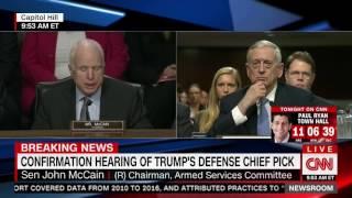 McCain blasts Putin, Russia in opening statement