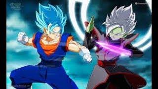 DRAGON BALL XENOVERSE 2 Vegito Blue Vs Zamasu! A Battle Between Gods !!!