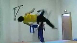 Martial arts tricks by zaka ul hassan first time in pakistan