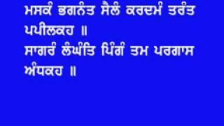 Path Shiri Guru Granth Sahib JI (1357-1361)Salok Sahiskriti