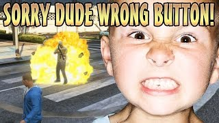 VOICE CHANGER KID GETS MODS TROLLING! (GTA 5 Mods)
