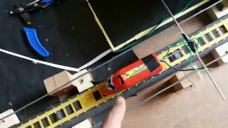 How to make simplest electric train
