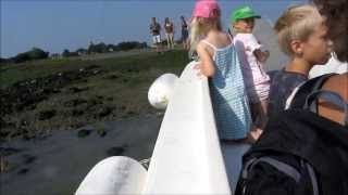 Bosham Harbour ferry boat trip - in 3d!