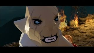 LEGO The Hobbit Walkthrough Part 9 - Out of the Frying Pan