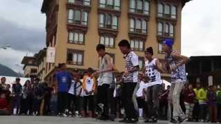 Glimpse of Bhutanese Talents #HipHop #Dance #2015