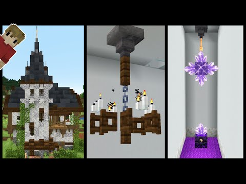 Early 1.17 Minecraft Building Tricks and Tips Snapshot