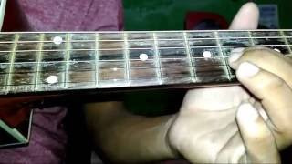Aashiqui2 love theme guitar tab lesson very easy for begginers in hindi.