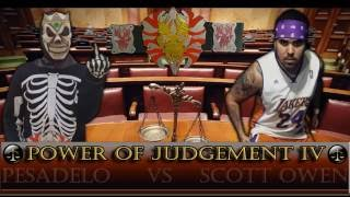 Power of Judgement IV - PROMO - Pesadelo vs Scott Owen