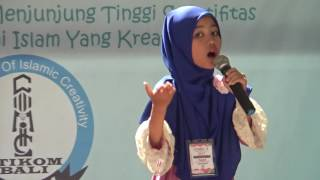Keisya Firrial Heleyna : Lomba Dai Cilik - COMIC V STIKOM BALI