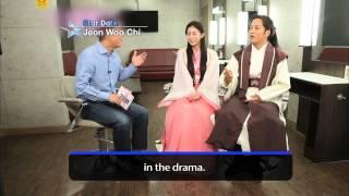 [Star Date] New Wed&Thu miniseries 'Jeon Woo Chi' with Cha Tae-hyun & U-ie (차태현 & 유이)