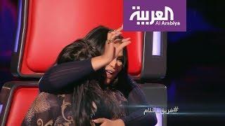 """صباح العربية : أحلام تكرر """"مقهورين """"واليسا ترتبك امام وسامة مشارك في ذا فويس"""