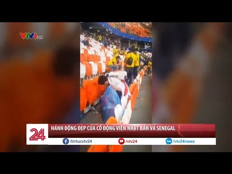 Xxx Mp4 Hành động đẹp Của CĐV Nhật Bản Và Senegal Tại World Cup 2018 Tin Tức VTV24 3gp Sex