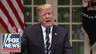 Trump holds surprise press conference, lashing out at Pelosi, Schumer