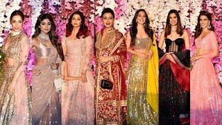 Bollywood Actress At Akash Ambani And Shloka Mehta Wedding Party
