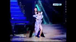 Myriam Fares-  in Dancing with the stars on Al Nahar