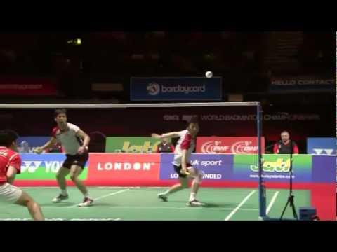 World Cup Badminton MD - Cai Y./Fu H. vs Ko S.H./Yoo Y.S #4
