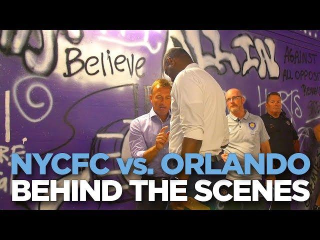 BEHIND THE SCENES | NYCFC vs. Orlando | 05.21.17