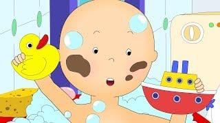 Caillou en Français | Caillou Prend un Bain | dessin animé | dessin animé pour bébé | NOUVEAU