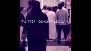 اجنبي يسب السعوديه، واحلى فزعه من الشعب السعودي 💚💪.