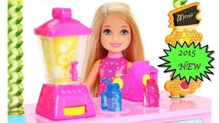 Barbie Chelsea and Lemondade Stand - Barbie Life in The Dreamhouse | TheChildhoodLife