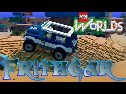 watch Frithgar's Let's Play Lego Worlds #11: Scrap Yards and Police Cars