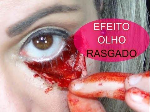 EFEITO ESPECIAIS OLHO RASGADO COM MAQUIAGEM POR RENATA MONTEIRO MAQUIAGEM ARTÍSTICA