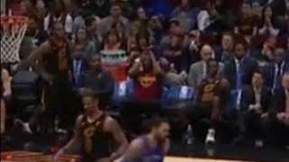 LeBron James loses his mind on the bench after blowout loss to OKC