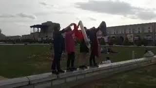 دختران انقلاب اصفهان میدان نقش جهان
