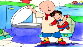 Funny Animated cartoon |  Caillou and the Doll | WATCH CARTOON ONLINE | Cartoon for Children