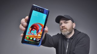 The Incredible Dual Screen Smartphone...