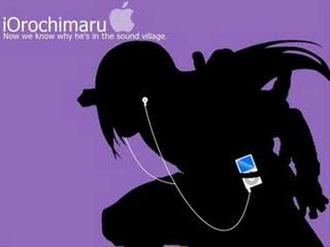 Naruto iPod theme songs