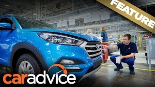 Hyundai Tucson: We build one from scratch in the Czech Republic | A CarAdvice Feature