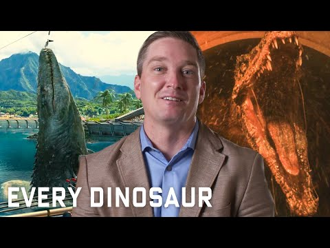 Every Dinosaur In Jurassic Park Series Explained WIRED